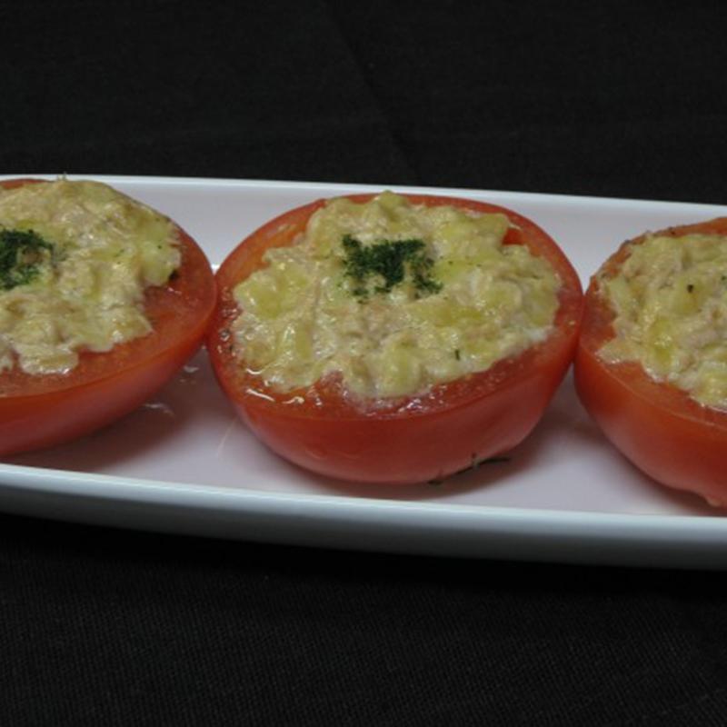 トマトのカップグラタン